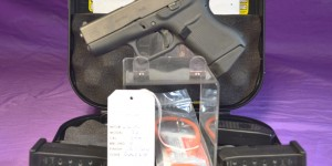 Glock 43 9mm  Factory New