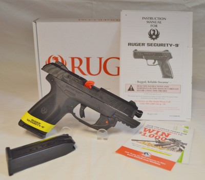 Ruger Security 9  Hi-Cap 15+1 9mm